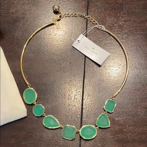 Green Kate Spade necklace !! New